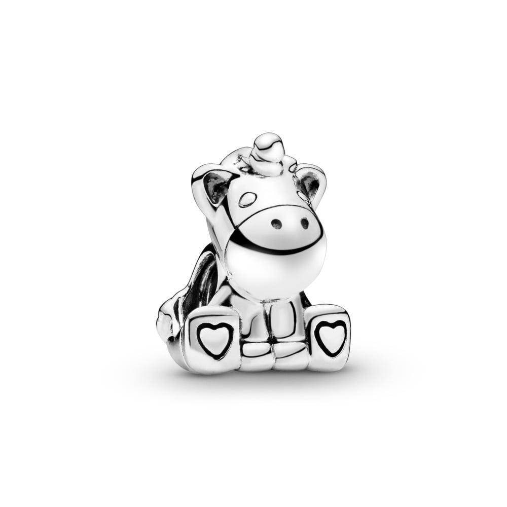 Charm Bruno la licorne, Argent sterling, Aucun autre matériel, Aucune couleur, Aucune pierre - PANDORA - #797609