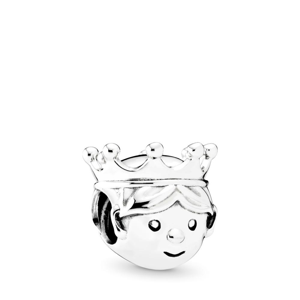 Cher prince, Argent sterling, Aucun autre matériel, Aucune couleur, Aucune pierre - PANDORA - #791959