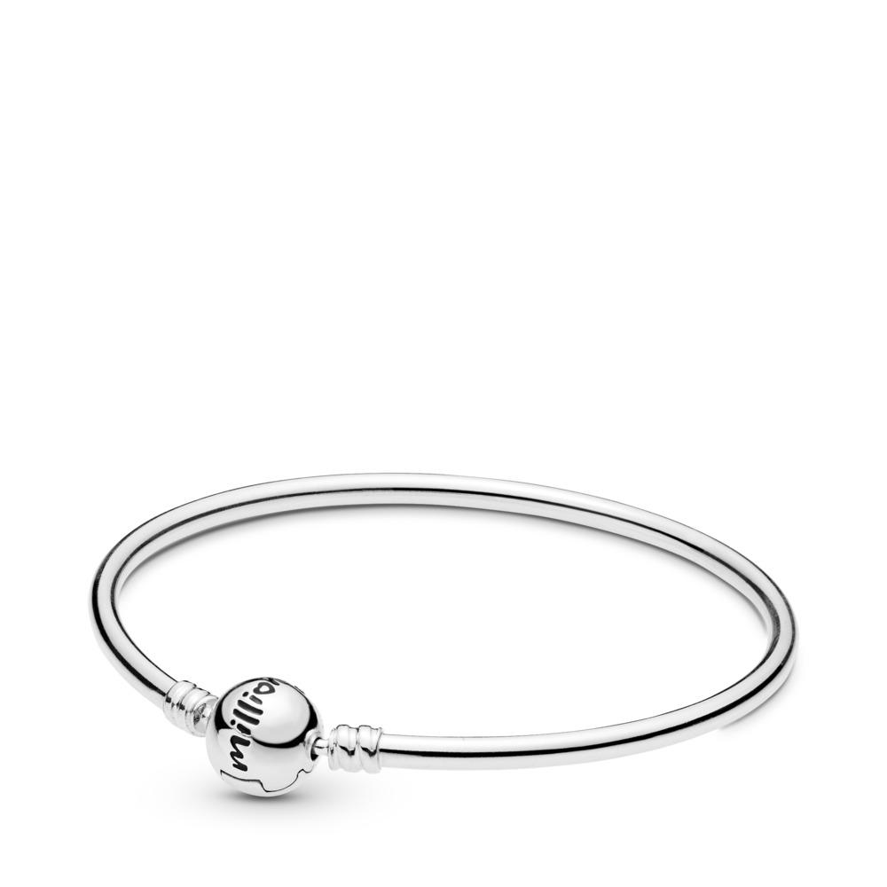 Véritable bracelet de charme unique, Argent sterling, Aucun autre matériel, Aucune couleur, Aucune pierre - PANDORA - #598084