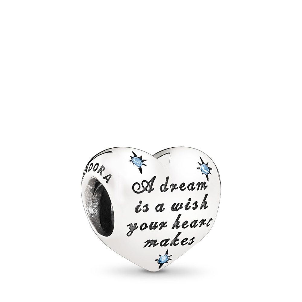 Disney, Cinderella's Dream, Sterling silver, Cubic Zirconia - PANDORA - #791593CFL