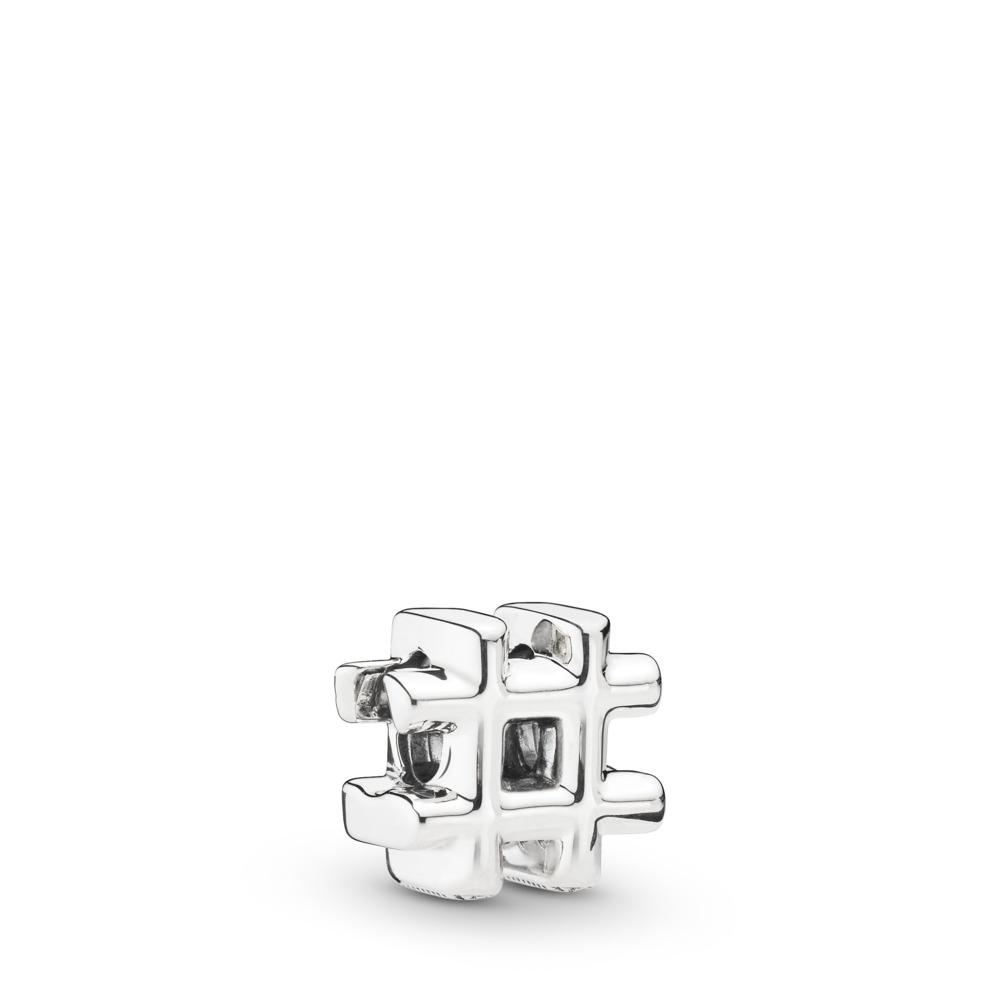 Charm Dièse, Argent sterling, Aucun autre matériel, Aucune couleur, Aucune pierre - PANDORA - #798128