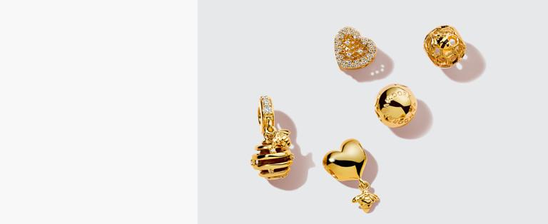 bijoux pandora plaqué or