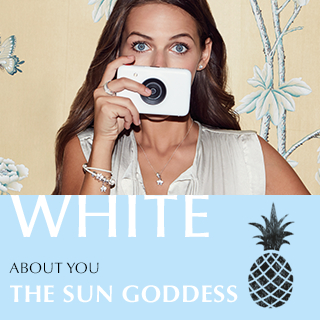 White. About you. THE SUN GODDESS.