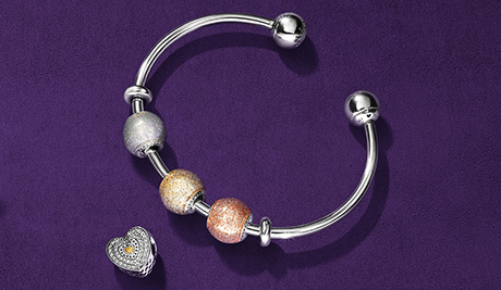 Express your style with our NEW open bangle.