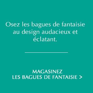 Osez les bagues de fantaisie au design audacieux et éclatant. Magasinez les bagues de fantaisie.