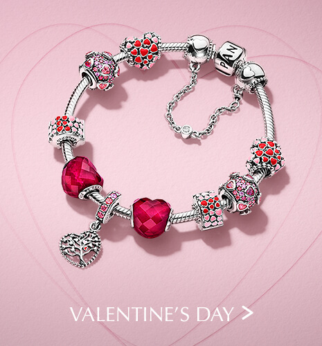 Valentine's Day Bracelet & Charms