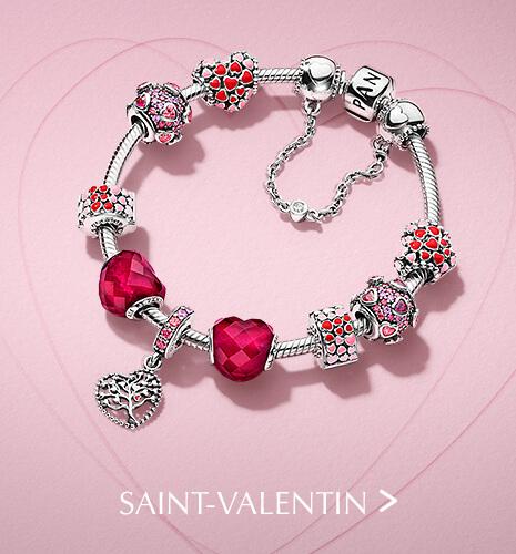 Bracelet et Charms Saint-Valentin