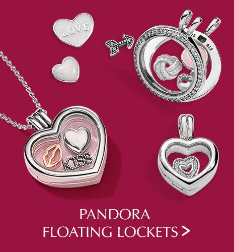 PANDORA Floating Lockets