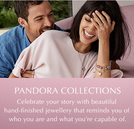 PANDORA Collections. Celebrate your story with beautiful hand-finished jewellery that reminds you of who you are and what you're capable of.