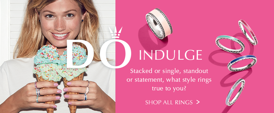 Do Indulge. Stacked or single, standout or statement, what style rings true to you? Shop All Rings.