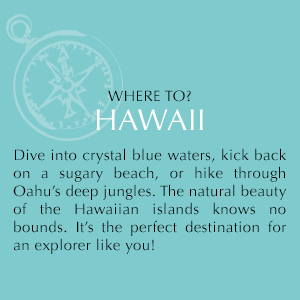 Dive into crystal blue waters, kick back on a sugary beach, or hike through Oahu's deep jungles.