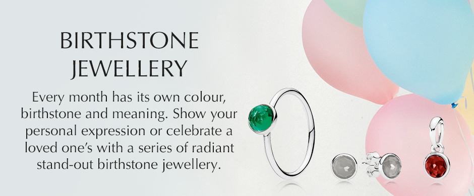 BIRTHSTONE JEWELLRY. Every month has its own colour, birthstone and meaning.